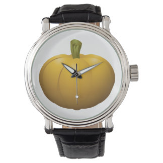 Relógio De Pulso Abóbora da comida do pulso aleatório