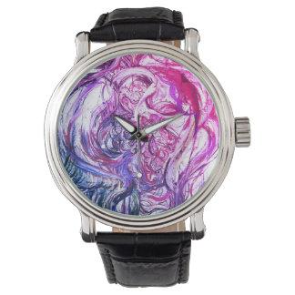 Relógio de pulso abstrato