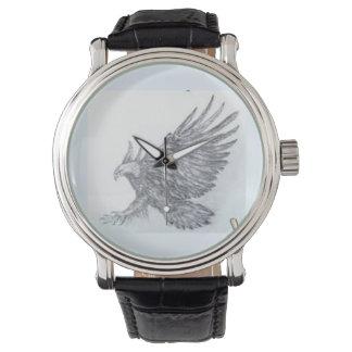 Relógio De Pulso águia, águia americana, EUA, pássaros, pássaro,