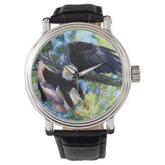 Relógio De Pulso Águia americana americana