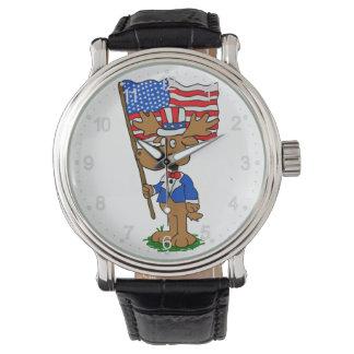Relógio De Pulso Alces do patriota