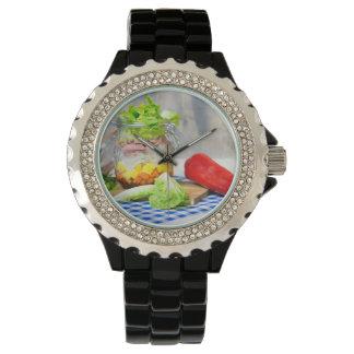 Relógio De Pulso Almoço em um vidro