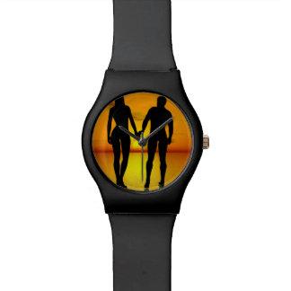 Relógio De Pulso Amantes novos pelo por do sol