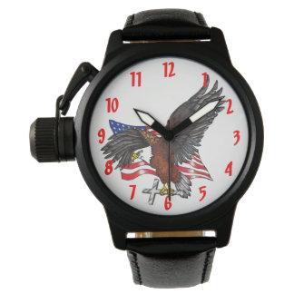 Relógio De Pulso Americano Eagle com cruz