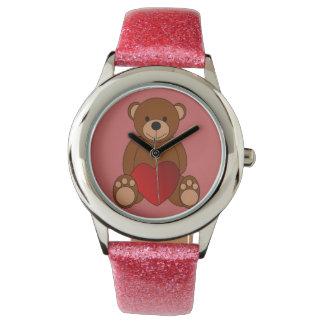 Relógio De Pulso Amor do ursinho