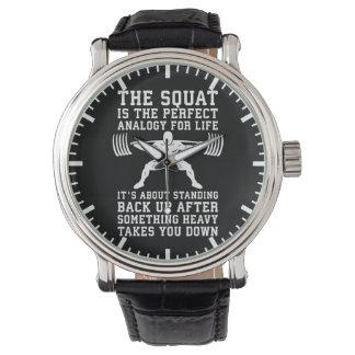 Relógio De Pulso Analogia da ocupa para a vida - dia do pé