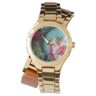 Relógio De Pulso Anjo do Natal - arte do Natal - decorações do anjo