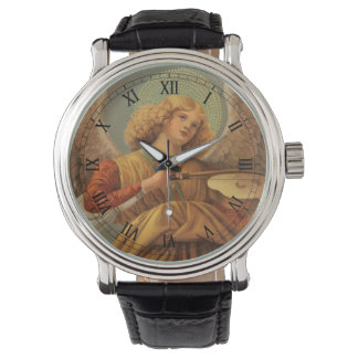 Relógio De Pulso Anjo do Natal que joga o violino Melozzo a