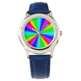 Relógio De Pulso Arco-íris brilhante colorido