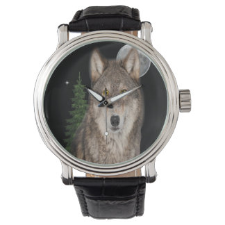 Relógio De Pulso arte do lobo