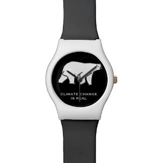 Relógio De Pulso As alterações climáticas são reais