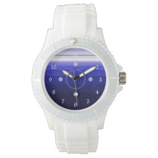 Relógio De Pulso Azuis do inverno