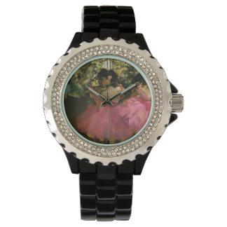 Relógio De Pulso Bailarinas no rosa por Edgar Degas
