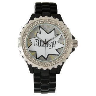 Relógio De Pulso Banda desenhada Bling!