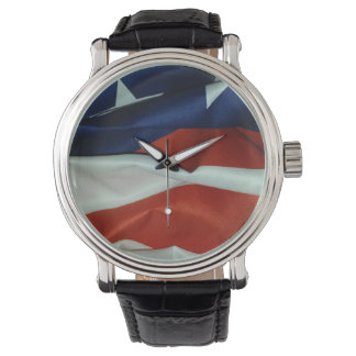 Relógio De Pulso Bandeira americana de voo