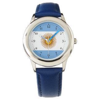 Relógio De Pulso Bandeira argentina patriótica