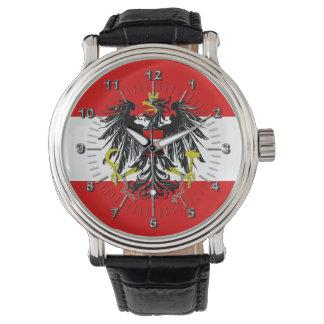 Relógio De Pulso Bandeira austríaca