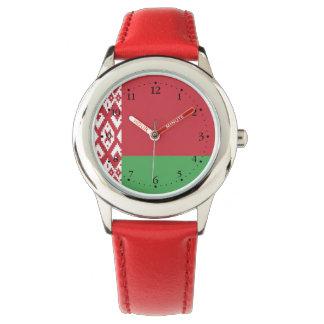 Relógio De Pulso Bandeira bielorrussa patriótica