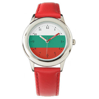 Relógio De Pulso Bandeira búlgara patriótica