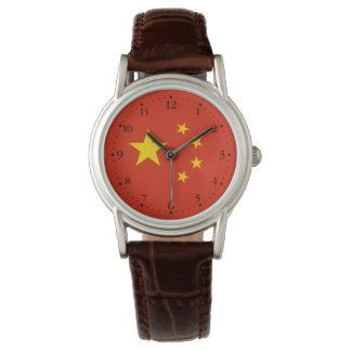 Relógio De Pulso Bandeira chinesa patriótica