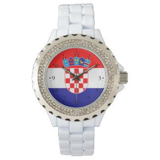 Relógio De Pulso Bandeira croata patriótica