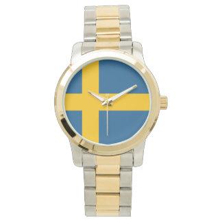 Relógio De Pulso Bandeira da suecia
