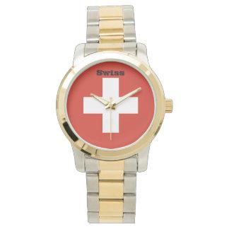 Relógio De Pulso Bandeira da suiça