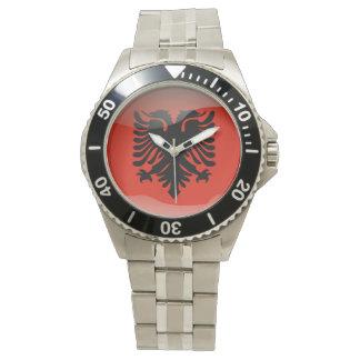 Relógio De Pulso Bandeira de Albânia