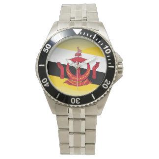 Relógio De Pulso Bandeira de Brunei