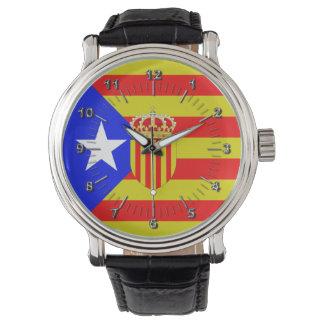 Relógio De Pulso Bandeira de Catalonia