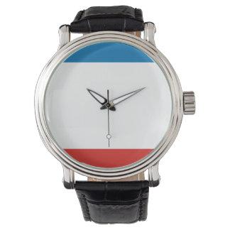 Relógio De Pulso Bandeira de Crimeia