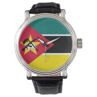 Relógio De Pulso Bandeira de Mozambique