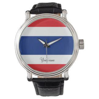 Relógio De Pulso Bandeira de Tailândia
