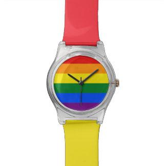 Relógio De Pulso Bandeira do arco-íris