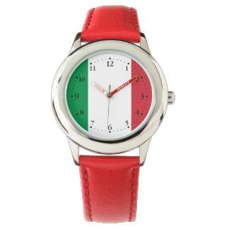 Relógio De Pulso Bandeira italiana patriótica