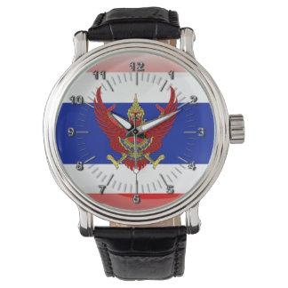 Relógio De Pulso Bandeira lustrosa de Tailândia