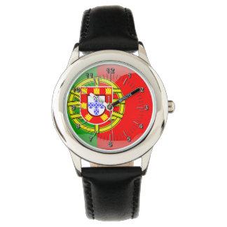 Relógio De Pulso Bandeira lustrosa portuguesa