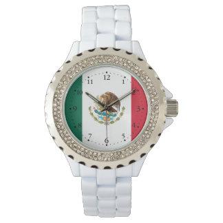 Relógio De Pulso Bandeira mexicana patriótica