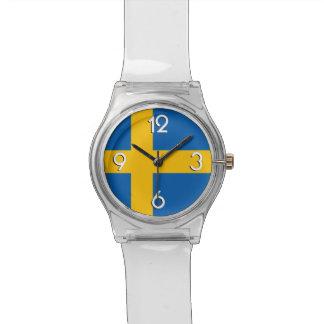 Relógio De Pulso Bandeira nacional da suecia