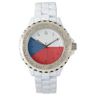 Relógio De Pulso Bandeira patriótica da república checa