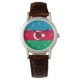 Relógio De Pulso Bandeira patriótica de Azerbaijan