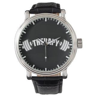 Relógio De Pulso Barbell - TERAPIA - exercício inspirado