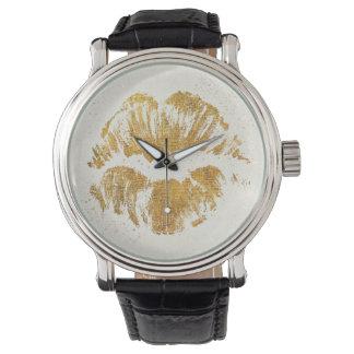 Relógio De Pulso Beijo à moda elegante selvagem de Apple |