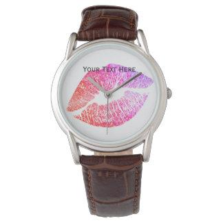 Relógio De Pulso Beijos