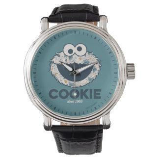 Relógio De Pulso Biscoito do monstro   do biscoito desde 1969