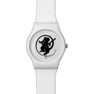 Relógio De Pulso Black Mouse