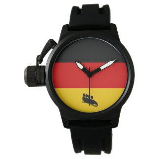 Relógio De Pulso Bobsled Alemanha da equipe