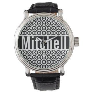 Relógio De Pulso Bolha preta personalizada