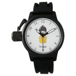 Relógio De Pulso Boneca japonesa