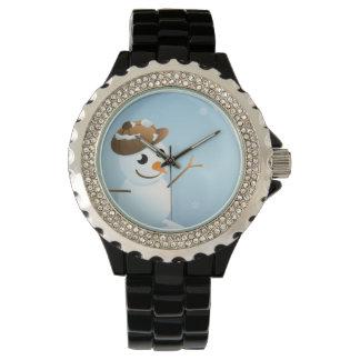 Relógio De Pulso Boneco de neve